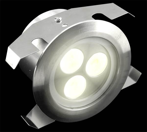Shine Exterior Warm White Led Inground Light Ip68
