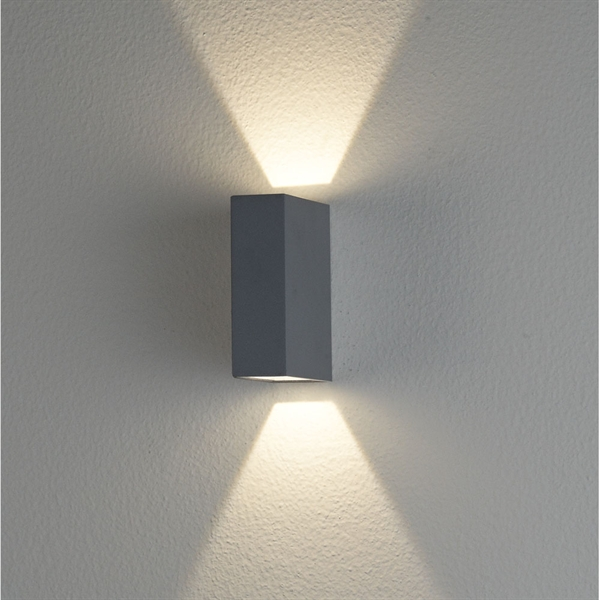 Clarence LED Exterior UpDown Wall Light EX2561 Crompton Lighting