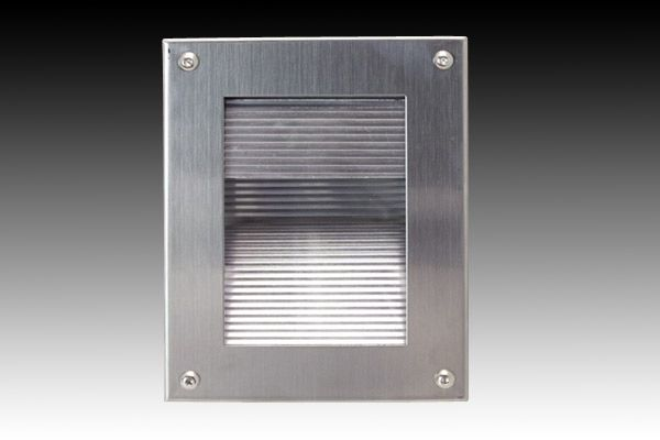 Ring round eyelid exterior wall light gm 930 domus lighting exterior 316 stainless steel recessed wall light f205 r gentech lighting mozeypictures Gallery