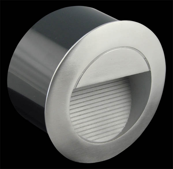 Exterior Stainless Steel 12v Led Recessed Round Wall