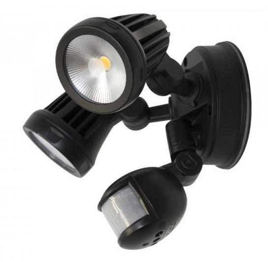 buy popular 09109 fe4fd FORTRESS Twin 2x13W LED FloodLight With Sensor (MLXF302S ...