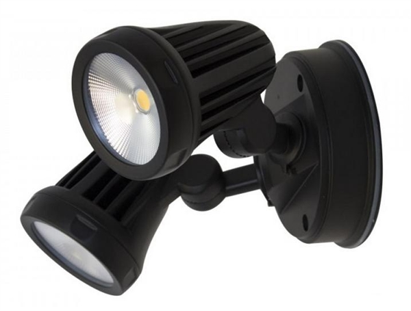 reputable site 8b895 df2b1 FORTRESS Twin 2x13W LED FloodLight IP65 (MLXF302 MLXF502) Martec Lighting
