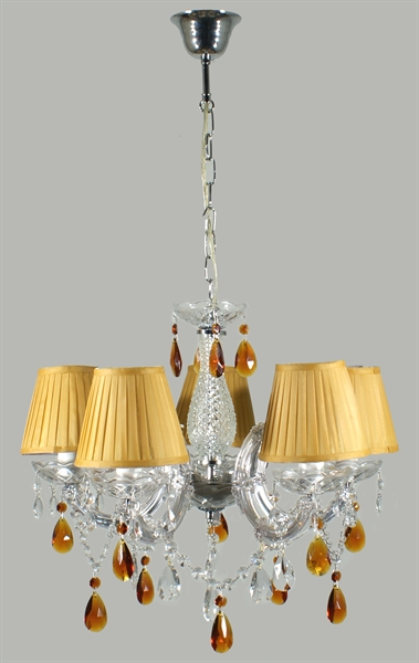 Marie antoinette 5 light crystal chandelier marie antoinettepd5lt marieantoinettepd5lt 1 aloadofball Image collections