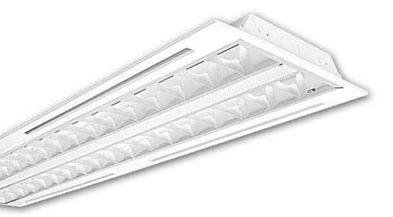 Recessed 2x28W T-Bar Troffer (S9704/228AS) Sunny Lighting
