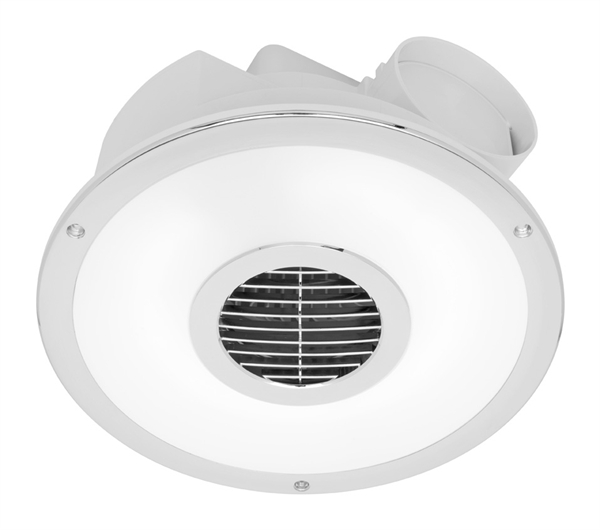 Skyline Round Exhaust Fan With Light Be020fsp Mercator