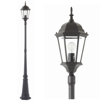 Yarra Exterior Post Light (MX7391P) Mercator Lighting – Bright Lighting